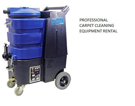 professional carpet cleaning machine rental