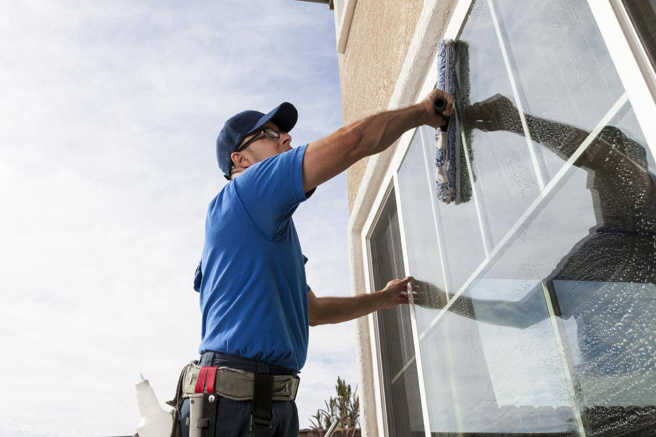 Window cleaning services eco pro services group for Window washing